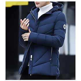 Áo khoác Phao Nam 3 LỚp Dày dặn Có Mũ Áo Phao Nam 5 Màu phong cách hàn quốc bao giặt máy