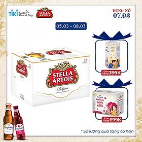 Thùng 24 Chai Bia Stella Artois (330ml / Chai)