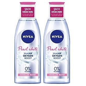 Combo 2 Nước Tẩy Trang Nivea Extra Bright Make Up Clear Cleansing Water (125ml*2)