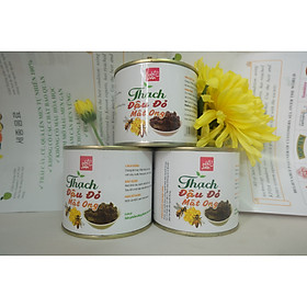 3 hộ thạch ăn liền đậu đỏ mật ong 340gr