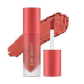 Son kem và má hồng Baby Bright Lip & Cheek Velvet Cherry Blossom 2.4g