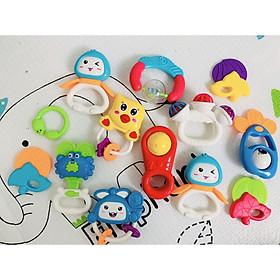 Túi 9 xúc xắc, 4 gặm nướu an toàn Toys House