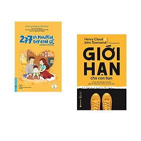 Combo 2 cuốn sách: 277 Lời Khuyên Dạy Con Của Giáo Sư Shichida + Giới Hạn Cho Con Bạn