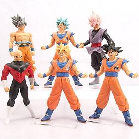 Bộ 6 mô hình Dragon Ball cao 18cm - Mẫu 3