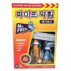 Hộp bột thông cống Mr Fresh Hàn Quốc 200g