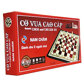 Bộ trò chơi cờ vua nam châm cỡ lớn đỏ NO3220