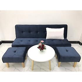 Bộ ghế sofa giường 1m7x90 sofa bed phòng khách sivali09