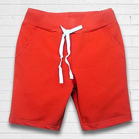 Quần thun TAMOD màu đỏ bé trai cho mùa hè sôi động.