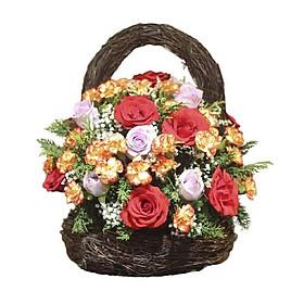 Giỏ hoa tươi - Ngàn Hoa Thiên Cổ 3286