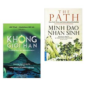 Combo Sách Tâm Linh, Tâm Lý Hấp Dẫn: Không Giới Hạn - Khám Phá HO'OPONOPONO + Minh Đạo Nhân Sinh