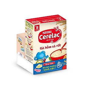 Bột Ăn Dặm Nestle Cerelac - Gà Hầm Cà Rốt (200g) - Tặng Kèm Bộ Chén Muỗng Ăn Dặm