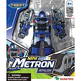 Đồ Chơi Lắp Ráp Young Toys - Mini Tobot Metron