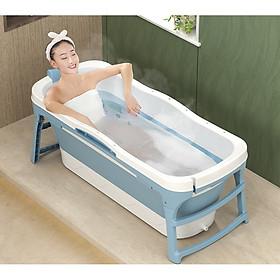 Bồn tắm gấp gọn tiện lợi cho cả người lớn và trẻ em size 1m28