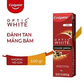 Kem đánh răng Colgate làm trắng răng khoáng núi lửa 100g