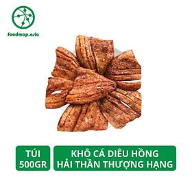 Khô Cá Điêu Hồng Thượng Hạng Hải Thần - Đặc Sản Đồng Tháp - Túi 500Gr - Foodmap