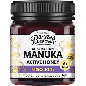 Mật ong Barnes Naturals Manuka Úc 1kg MGO 100+ Nhập Khẩu Úc