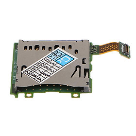 Replacement Game Console Repair Part SD Card Slot Module With PCB Board for Nintendo 3DS