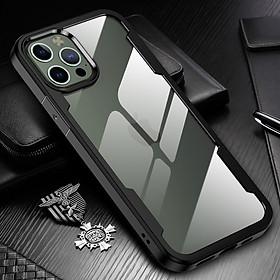 Ốp lưng chống sốc lưng trong cao cấp dành cho iPhone 12 / 12 Pro / 12 Pro Max / 12 Mini - Hàng chính hãng