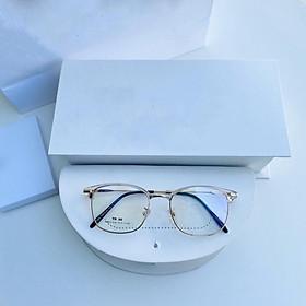 Mắt kính giả cận cao cấp gọng kim loại dành cho cả nam và nữ LYLY2673