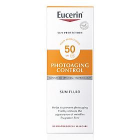 Kem chống nắng giúp ngăn ngừa lão hóa da Eucerin Sun Fluid Photoaging Control SPF 50