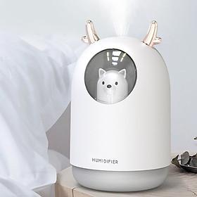 Máy phun sương tạo ẩm hàng hiệu con Gấu Humidifier- Bền tốt của AGD