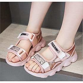 Xăng đan bé gái - Giày sandal đi học bé gái THQ57