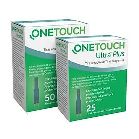 Que Thử Đường Huyết One Touch Ultra Plus Flex Johnsons & Johnson (  lọ 25 que thử )