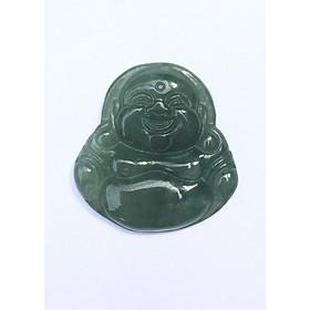 Mặt Dây Chuyền Phật Di Lặc Cẩm Thạch Dầu cho bé NEJA Gemstones
