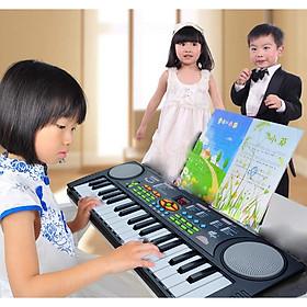 Đàn Organ điện tử 37 phím đa tính năng kèm Mic hát cho bé