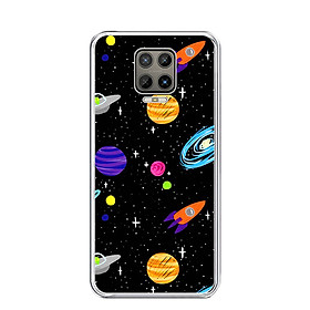 Ốp lưng điện thoại VSMART ARIS - Silicon dẻo - 0063 SPACE04 - Hàng Chính Hãng