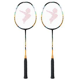 Bộ vợt cầu lông sợi carbon siêu nhẹ có túi
