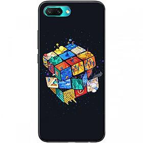 Ốp lưng dành cho điện thoại HONOR10  Mẫu 10 Rubik