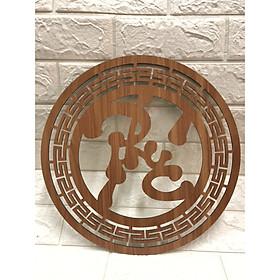 Trang trí chữ Phúc Việt dành cho bàn thờ treo tường  TP1043