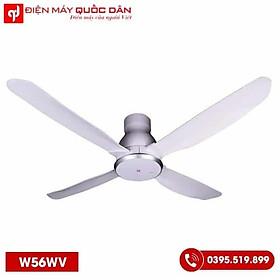 Quạt Trần KDK W56WV 4 cánh màu trắng