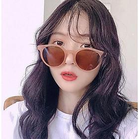 Kính râm gọng tròn bảo vệ mắt chống tia UV nhiều kiểu sành điệu Sunglasses KM13