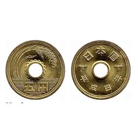 Đồng xu 5 Yên Nhật phong thủy, 1 trong những đồng xu may mắn nhất thế giới