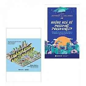 Combo sách kỹ năng hay: Những Ngã Rẽ Nghề Nghiệp + Thành Phố Khởi Nghiệp (tặng kèm bookmark PĐ)
