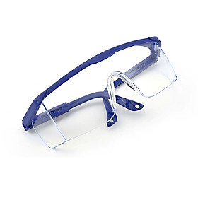 Fashion Safety Glasses with Adjustable Eyeglasses Legs Goggles Eyewear Anti Dust Windproof Eye Wear for Man & Woman Eye