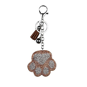 Key pendant Keychain Features a Detachable Keyring  Pendant Diamond keychain