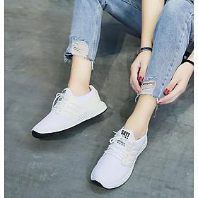 Giày sneaker thể thao nữ buộc dây thời trang mới nhât 238