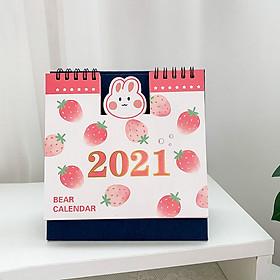 Lịch Bàn 2021 Sáng Tạo Để Bàn Trang Trí Công Việc Note Lịch Mới Kế Hoạch Năm