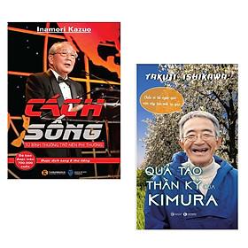 Combo 2 Cuốn Sách Kỹ Năng Sống Hay Nhất :  Cách Sống + Quả Táo Thần Kỳ Của Kimura (Tặng kèm Bookmark Happy Life / Bộ Sách Về Triết Lý Nhân Sinh Tuyệt Hay)