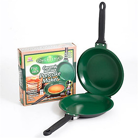 Easy Flip  NonStick Cookware Pancake Maker  Double Pan