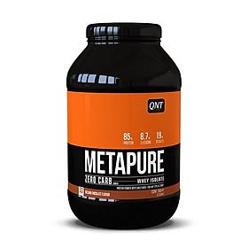 Thực phẩm tăng cơ Isolate Whey Protein QNT Zerocarb metapure 908g vị Socola