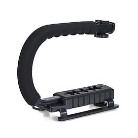 U shape Handheld Bracket Handle Grip Stabilizer for Canon DSLR Camera Camcorder Video
