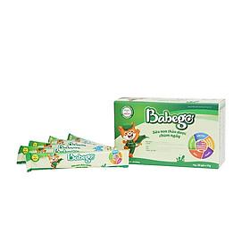 Sữa non thảo dược chùm ngây Babego – 100% sữa non từ Hoa Kỳ
