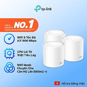 Bộ Phát Wifi Mesh TP-Link Deco X20 AX1800 MU-MIMO (3-pack) - Hàng Chính Hãng