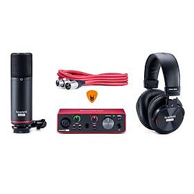 Focusrite Scarlett Solo Studio Gen 3 Sound Card Âm Thanh Hàng Chính Hãng - Focus USB Audio Interface SoundCard (3rd - Gen3) - Kèm Móng Gẩy DreamMaker