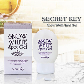 Gel hỗ trợ trị thâm da và dưỡng trắng cơ thể Secret Key Snow White Spot Gel (65g)