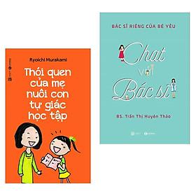 Combo Sách Làm Cha Mẹ Hay Nhất: Thói Quen Của Mẹ Nuôi Con Tự Giác Học Tập+ Bác Sĩ Riêng Của Bé Yêu - Chat Với Bác Sĩ ( Tặng Kèm Bookmark Green Life )